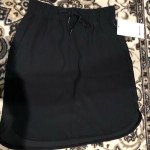 Lululemon On The Fly Skirt Black New